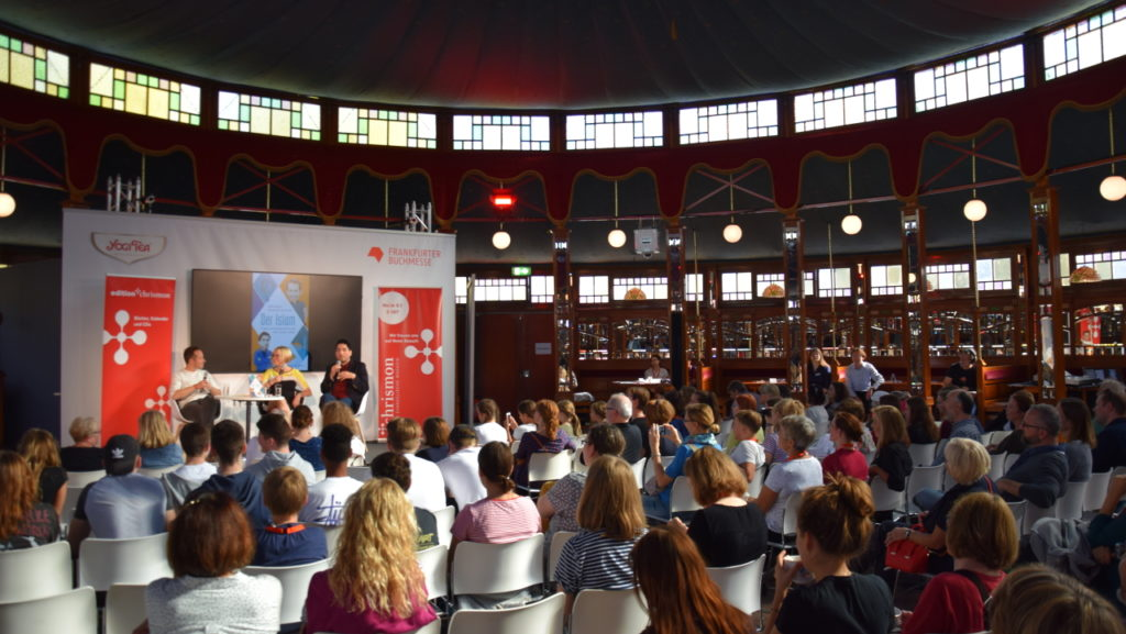 Buchmesse Diskussion