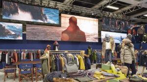 LED Installation im Fashion Store