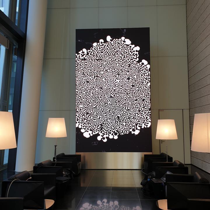 LED-Kunst