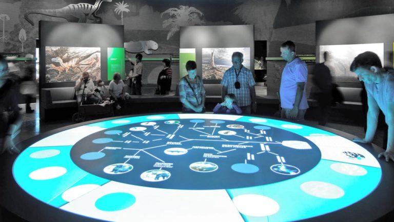 Interaktionstische mit Projektionen