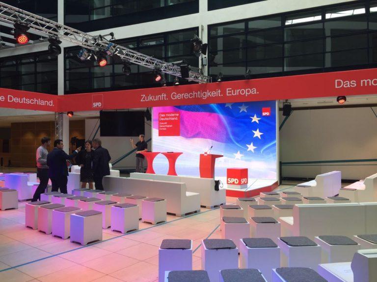 SPD Forum Pressekonferenz