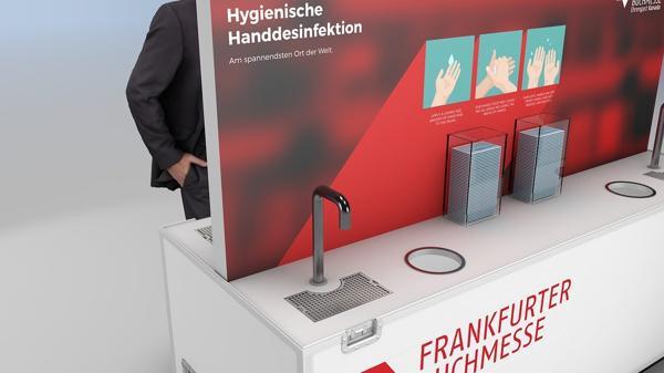 Das Hygiene-CASE bietet Gesundheitsschutz auf Events