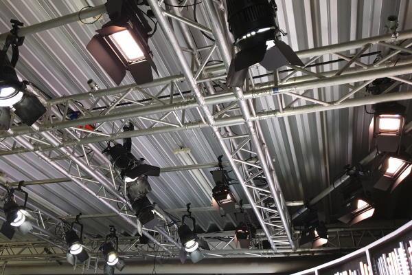 AVMS Studio Liederbach Beleuchtung