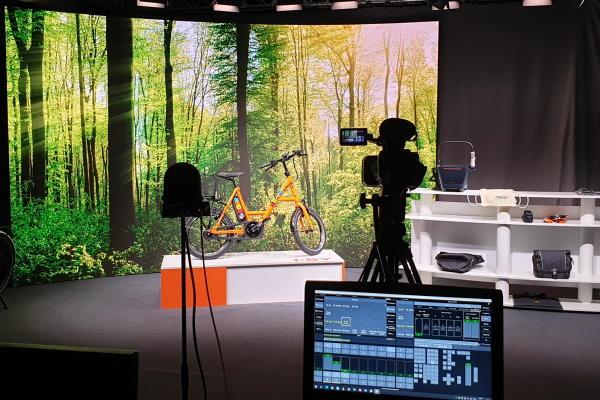 iSY S8 vom E-Bike Cafe im AVMS Studio