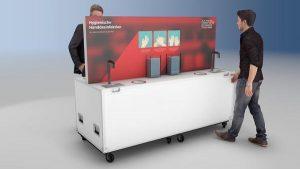 AVMS liefert Technik und Hygieneartikel für Impfzentren