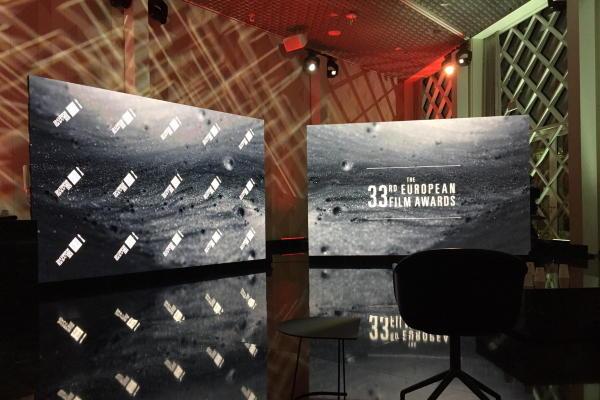 Europäischer Filmpreis 2020 mit LED-Wänden von AVMS