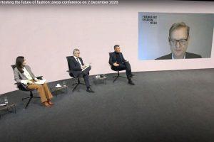 Frankfurt Fashion Week Pressekonferenz im AVMS-Studio