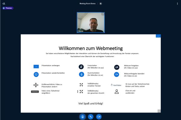 AVMS Virtual Workspace Webmeeting